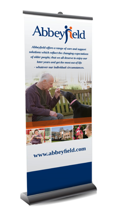 Care Home Banners & Signage