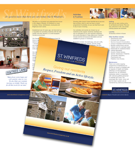 Care Home Brochures