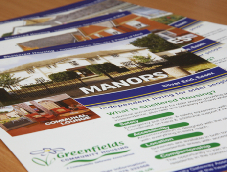 Care Home Marketing | Leaflets & Posters